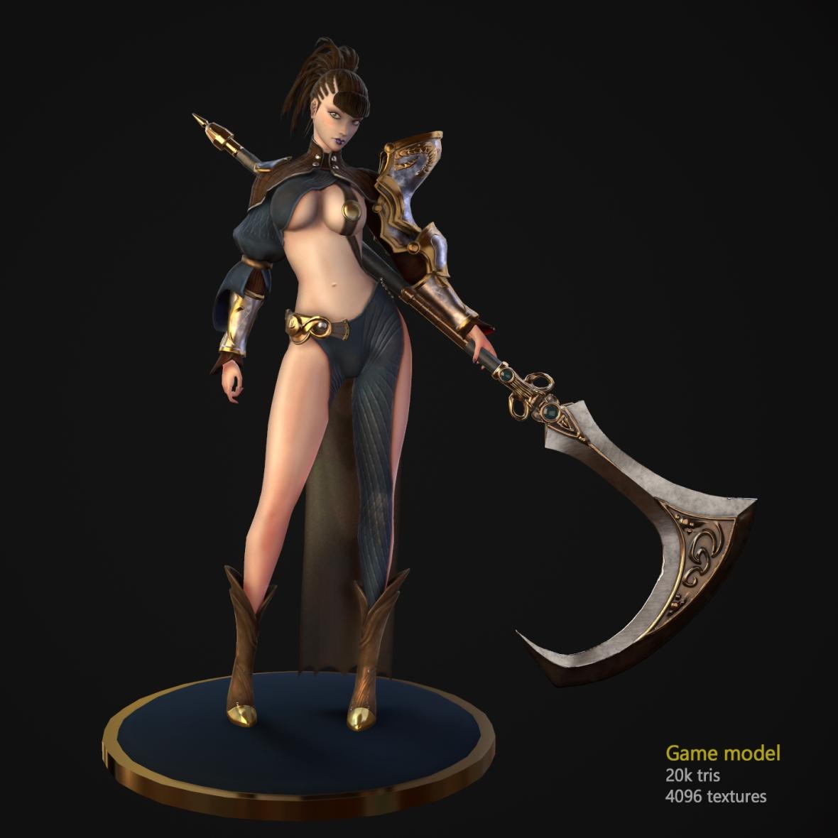 scythe girl 2